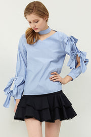 storets.com Ivy Chocker-neck Blouse