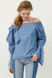 Olivia Off-the-shoulder Top