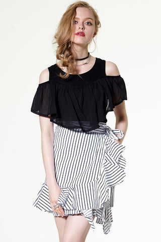 Kalia Two-way Ruffle Top