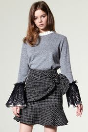 Zea Wrap Belt Skirt
