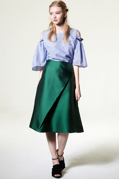 Laura Satin Skirt