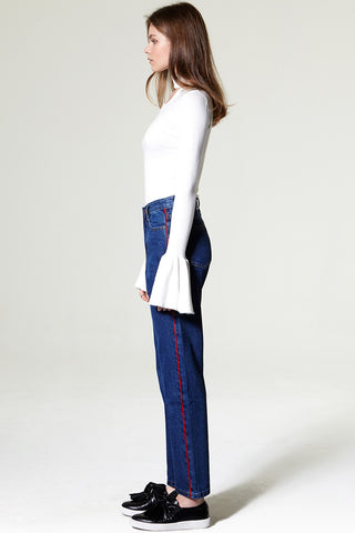 Evan Straight Line Denim Pants