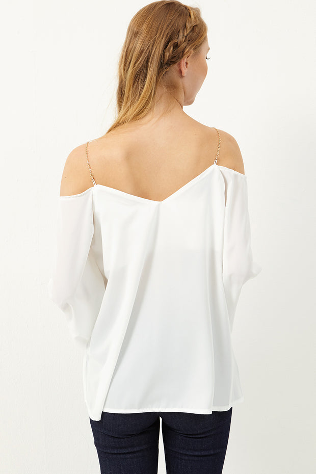 Shianne Cold Shoulder Blouse