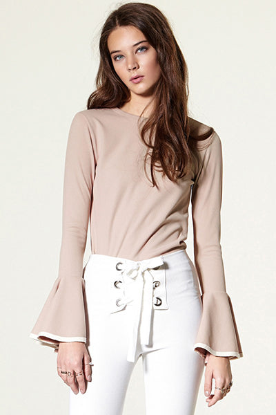 storets.com Gwen Wide Cuff Knit Top