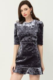 Briony Velvet Dress