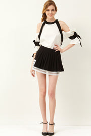 Freya Pleated Mini Skirt