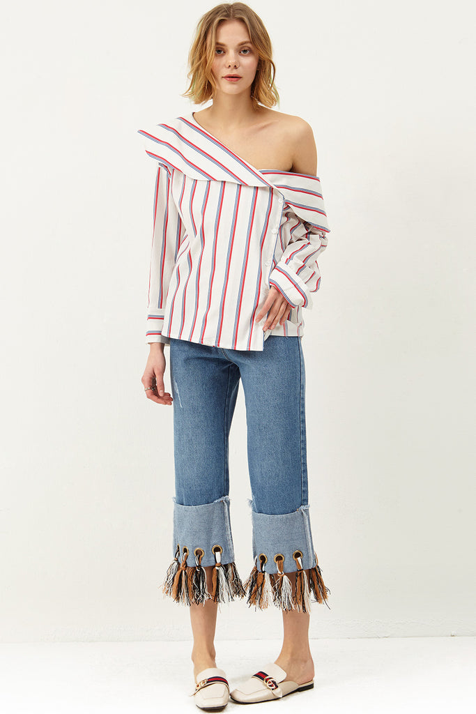 Julia One Shoulder Blouse
