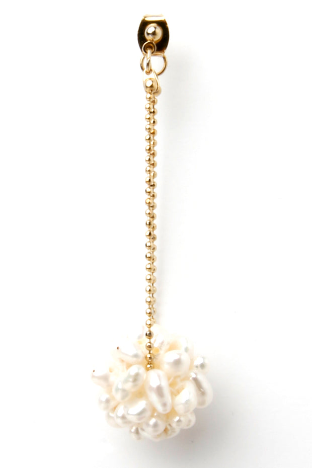 Snow Ball Earring