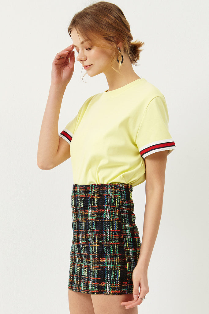 Dolly Tweed Mini Skirt
