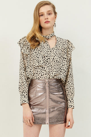 Wendy Animal Printed Blouse