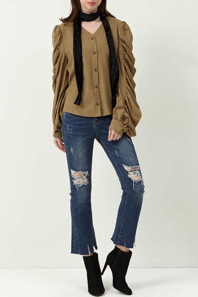 Cut It Out Flare Jeans