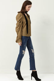 storets.com Cut It Out Flare Jeans