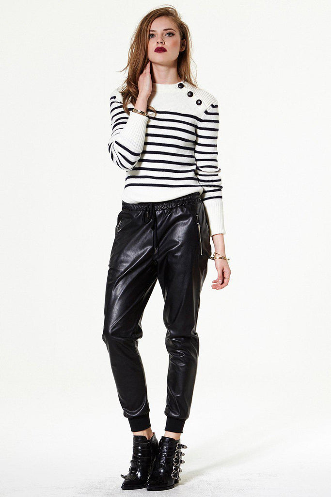 Fine Vine Vegan Leather Pants