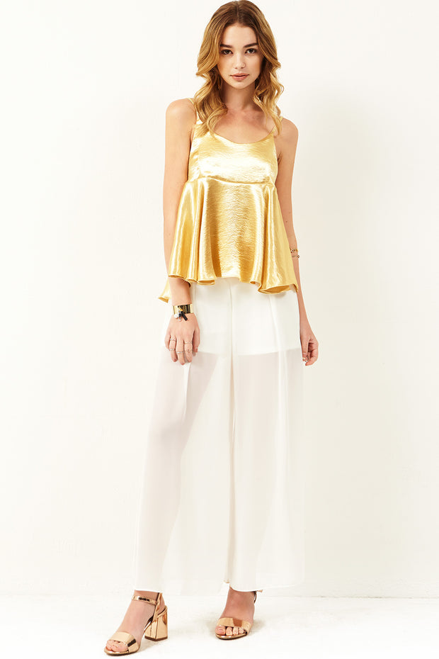 storets.com Keira Side Slit Sheer Pants