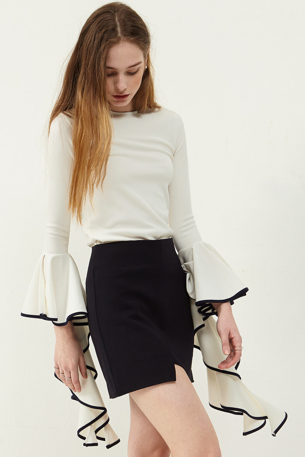 Jary Cut Out Skirt