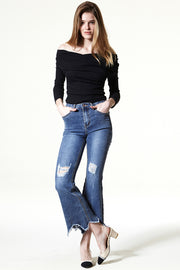 storets.com Western Dream Flare Jeans