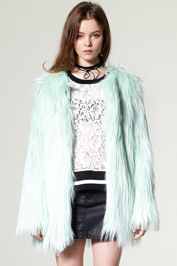 storets.com Nancy Faux Fur Coat