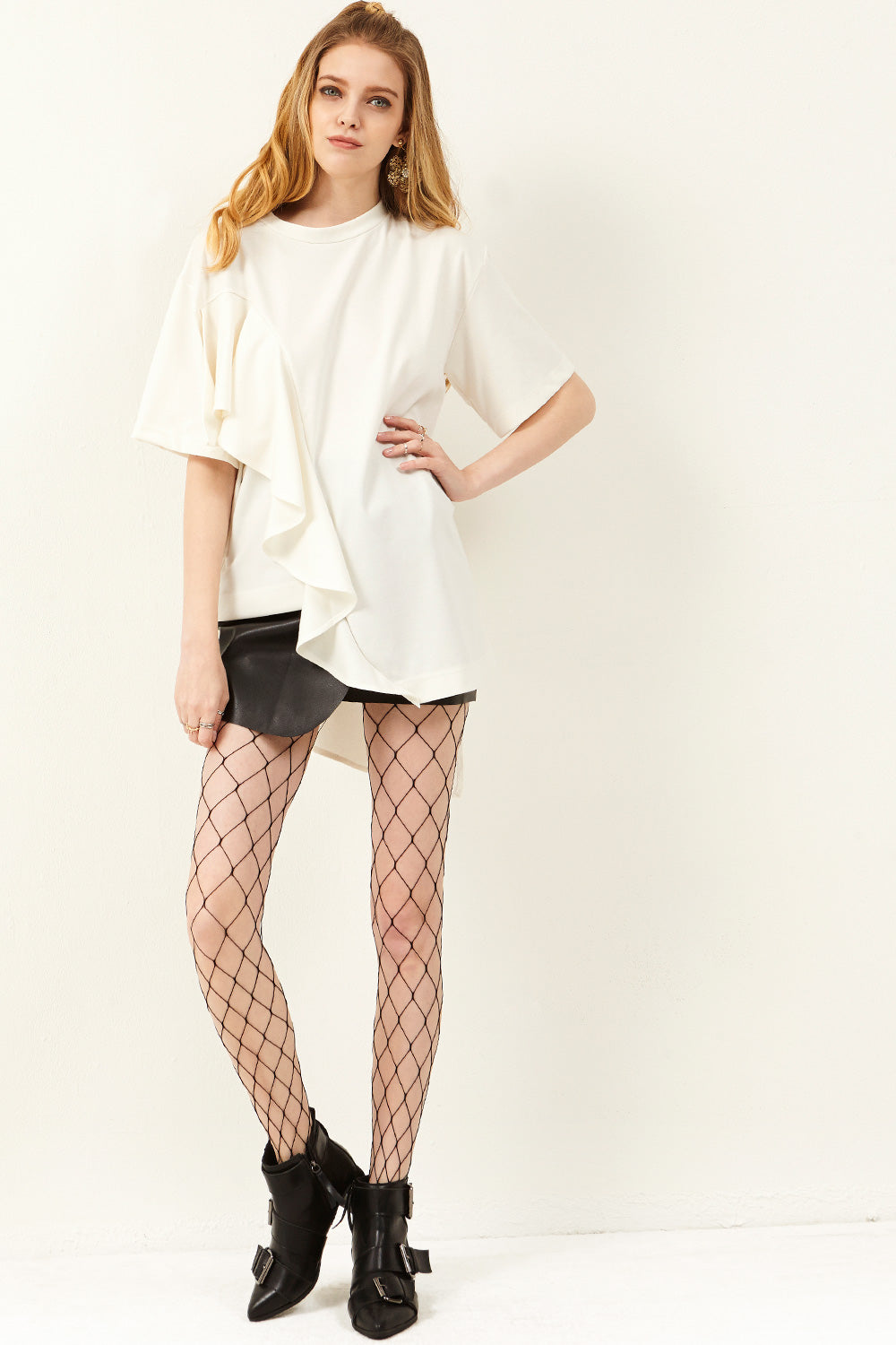 Maddie Fishnet Tights