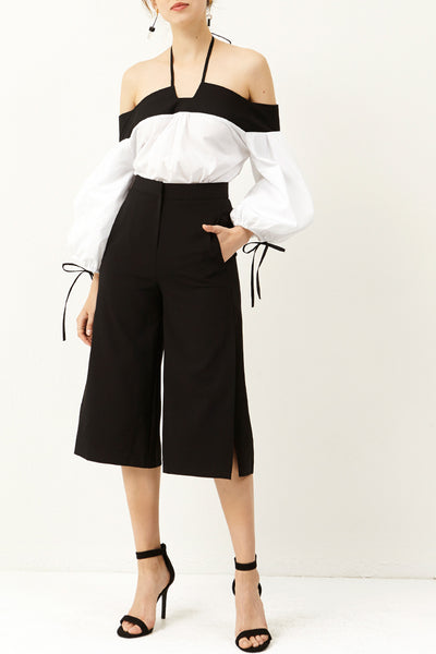 Dyana Side Slit Pants