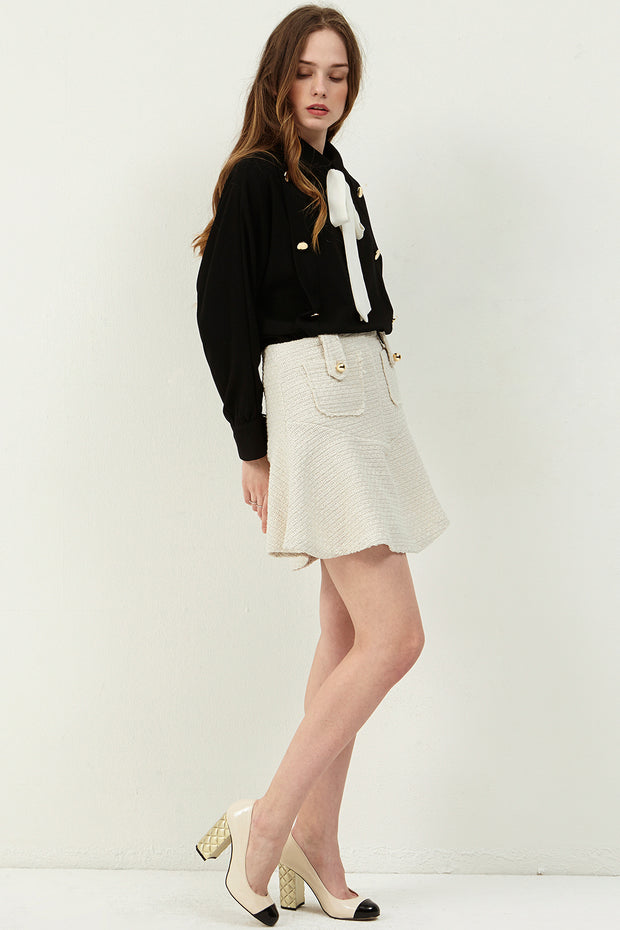 Melina Tweed Mini Skirt