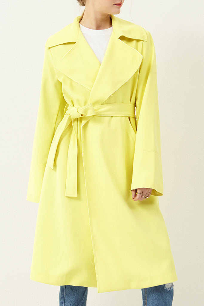 Holly Lemon Trench Coat