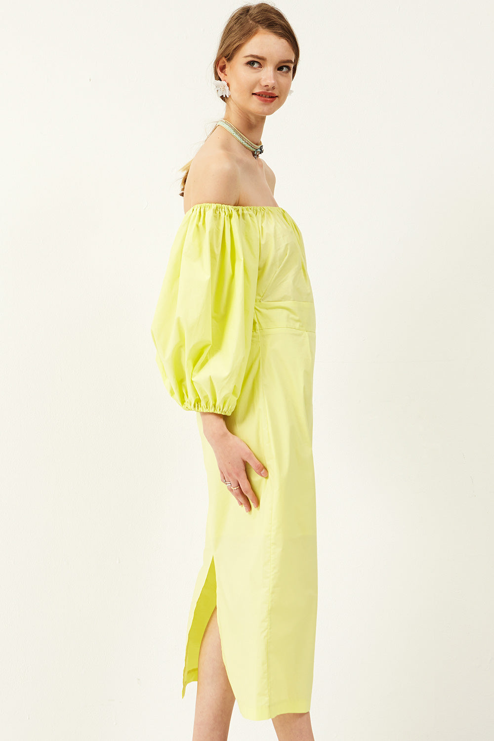 Izabel Off-the-Shoulder Maxi Dress