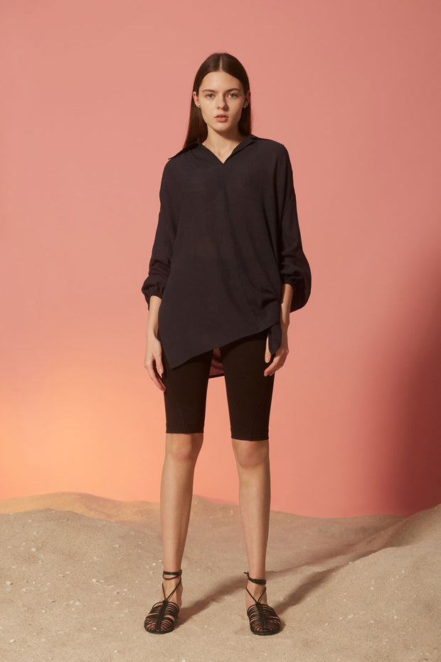[NUVO10] BLOUSE_voluminous sleeve blouse