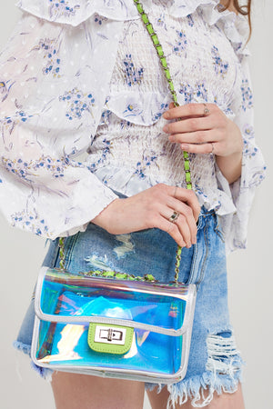 Retro Galaxy Clutch Bag