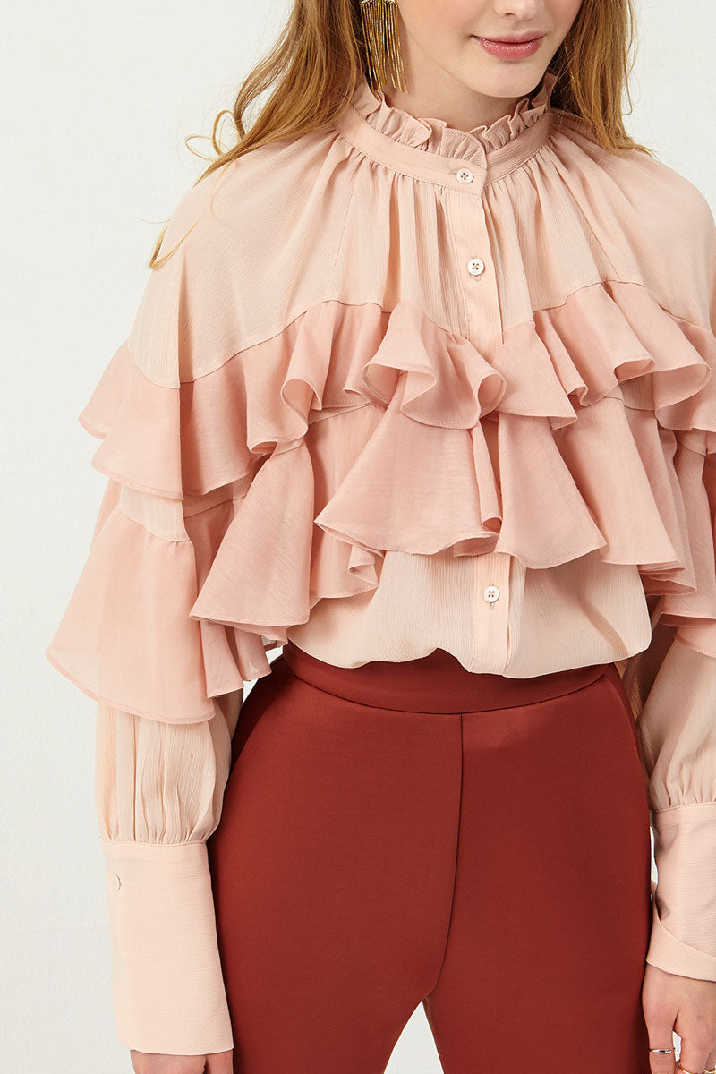 Skye Ruffled Blouse