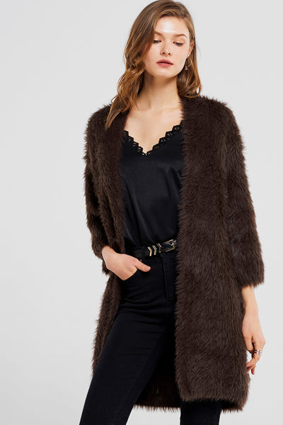 Stella Angora Long Coat