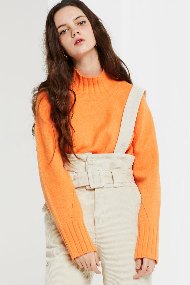 April Mock Neck Sweater