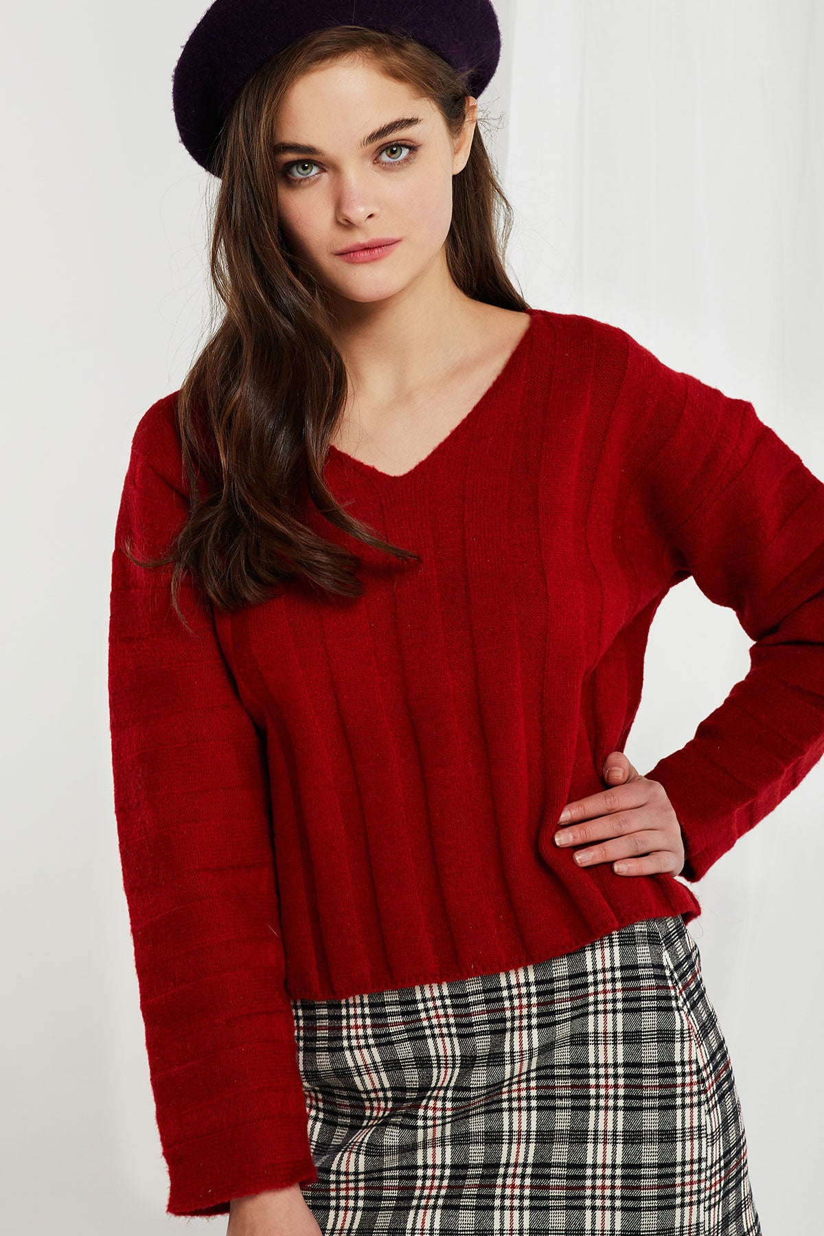 Britt Flat Ribbed Sweater