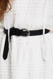 Chain Motif Detail Belt