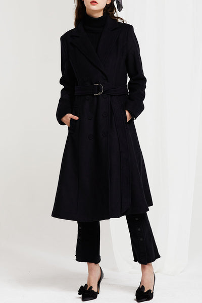Eliza Long Belted Jacket