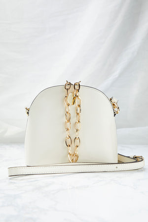 Enamel Chain Tote Bag