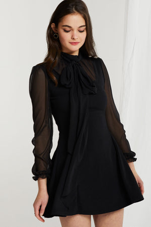 Jane Sheer Tie Dress