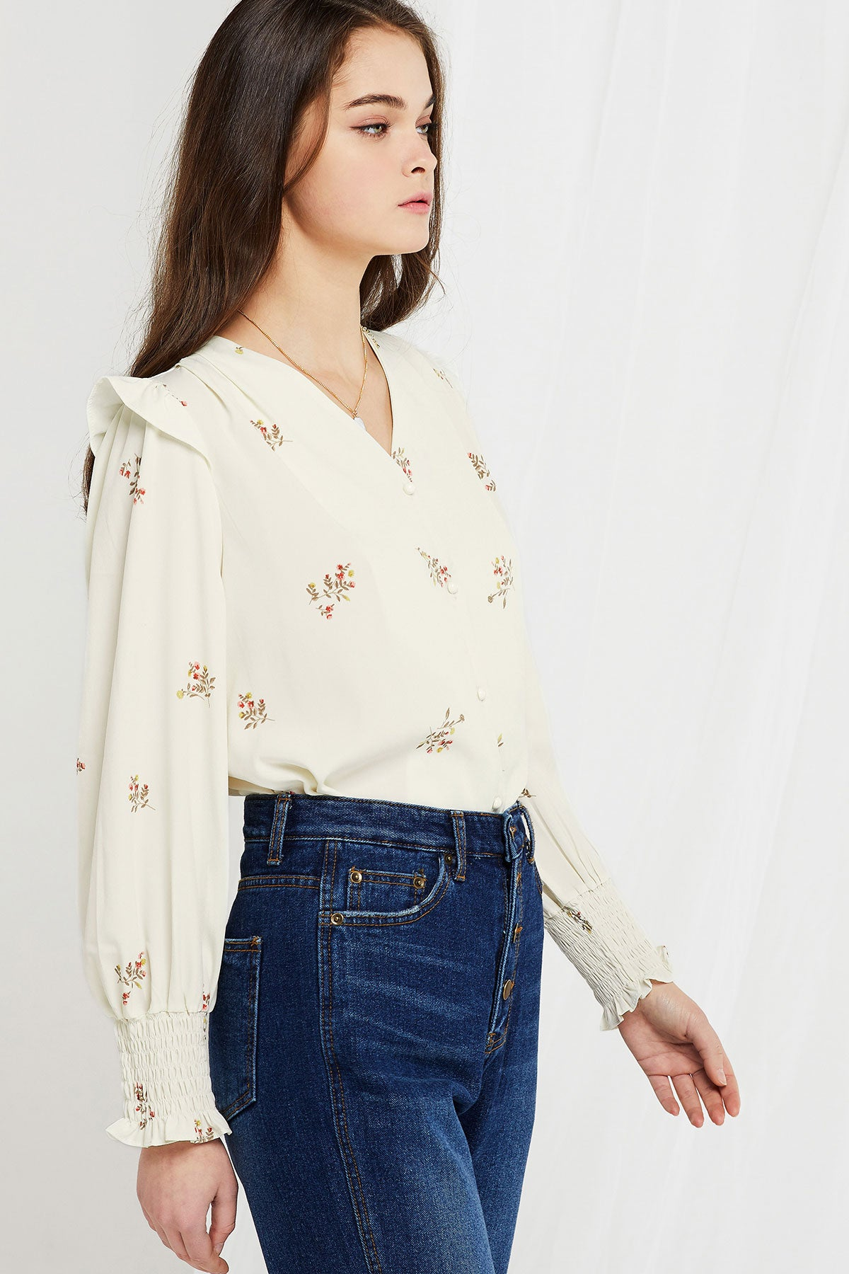 Karly Vintage Mood Blouse