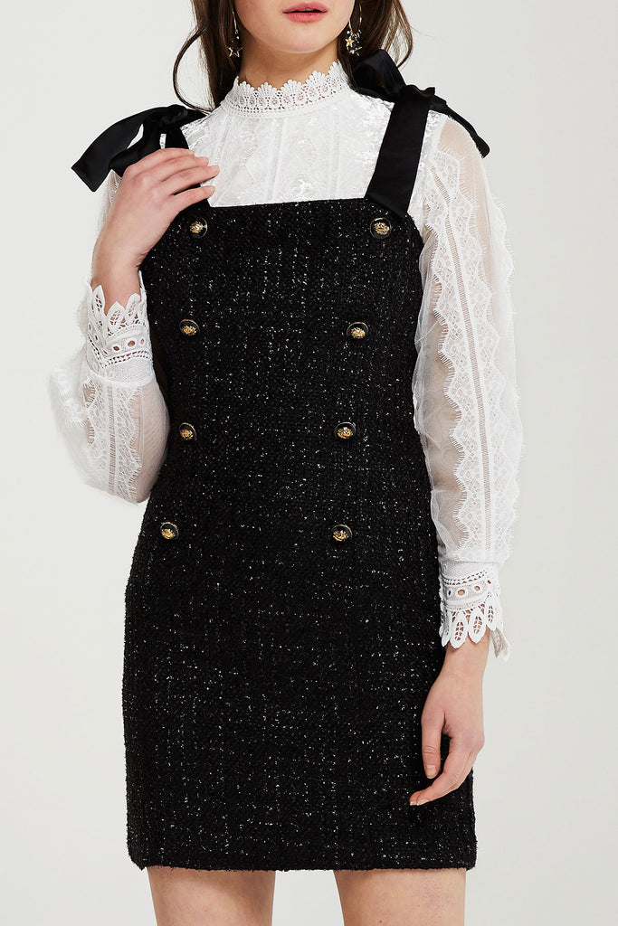 Natalia Pinafore Dress