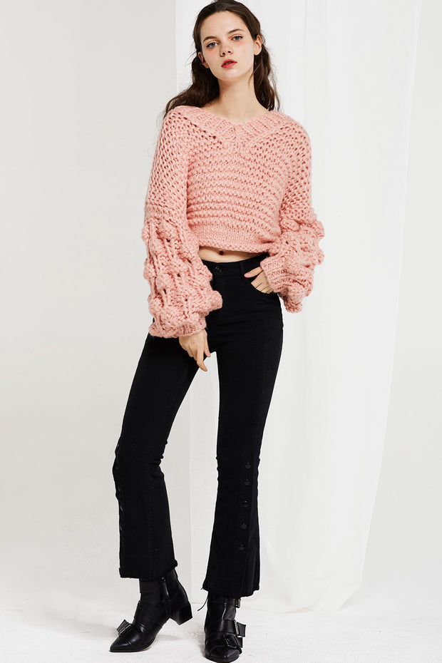 storets.com Sue Chunky Knit Sweater-2 Colors