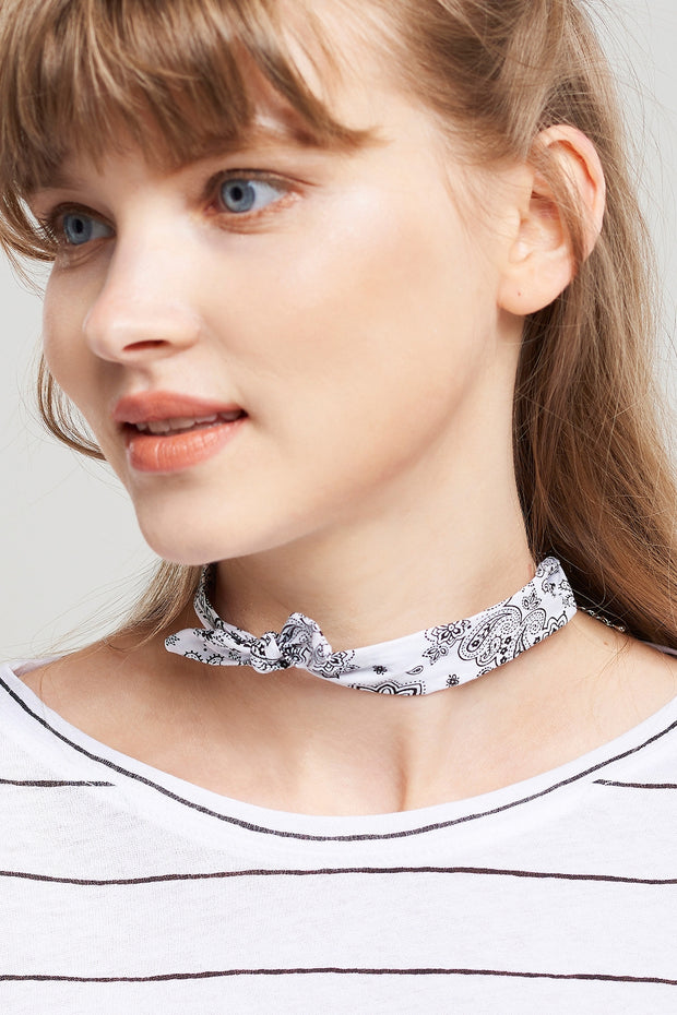 Bandana Choker Necklace