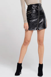 Tiffany Zipper Glam Skirt
