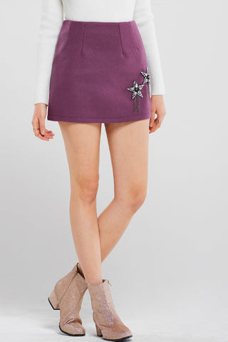 Vicky Star Mini Skirt