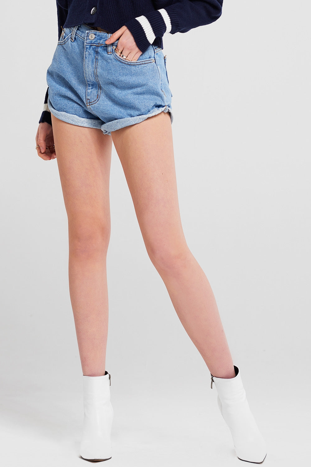 Vivian Denim Shorts