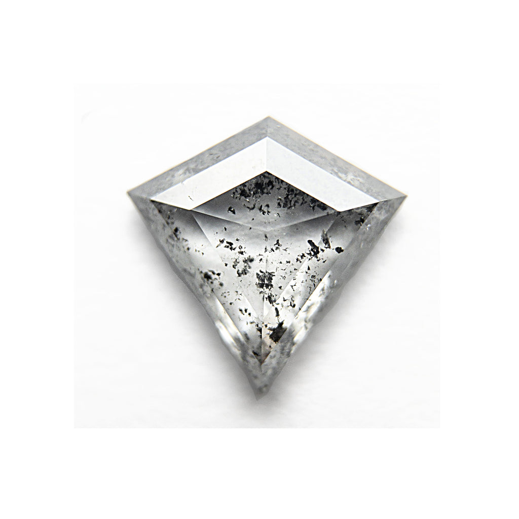 .70 Carat Salt and Pepper Kite Rosecut Diamond - For Custom Jewelry