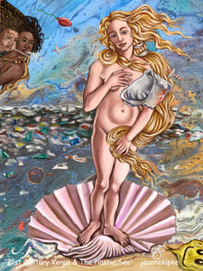 1st Century Venus and the Plastic Sea