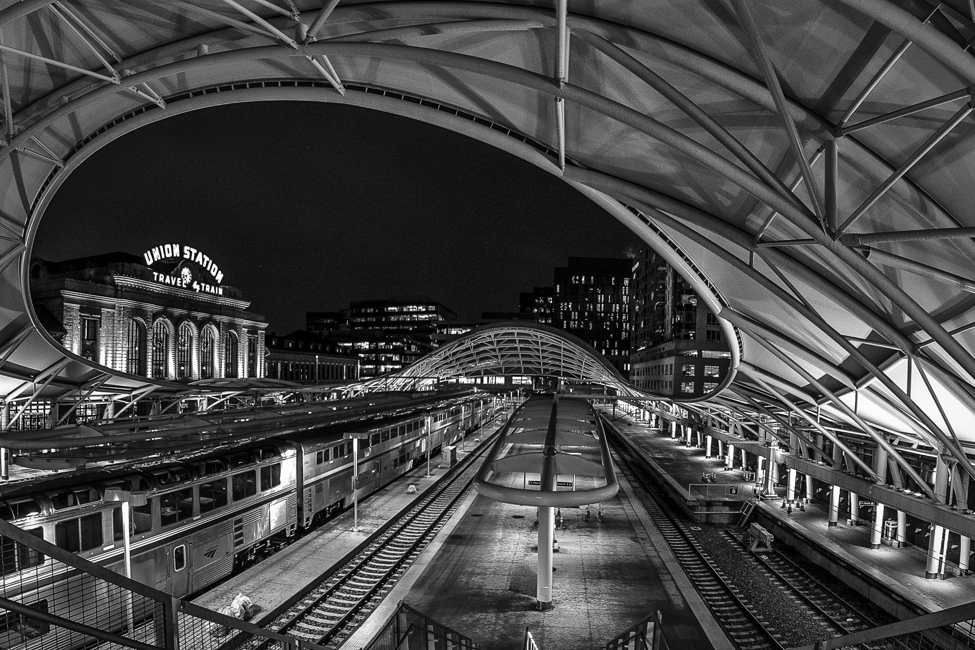 Union Station from the Tracks