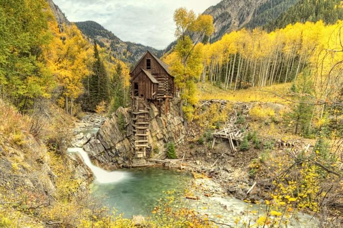 Autumn at the Crystal Mill