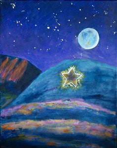 Boulder Star at Night