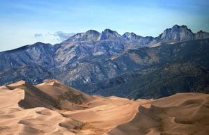 Star Dune and Crestone Peak, Late Afternoon