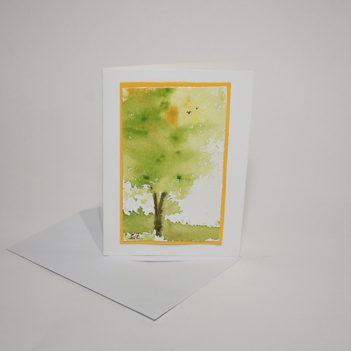 Fall Turning Art Card